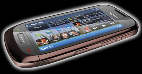 Nokia C7 front Nokia E7, Nokia C6 y Nokia C7