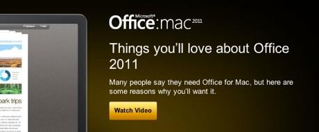 Office para Mac 11 Office 2011 para Mac el 26 de Octubre