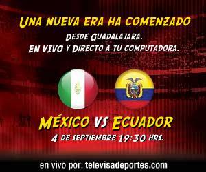 mexico ecuador en vivo bicentenario Mexico vs Ecuador en vivo, Bicentenario