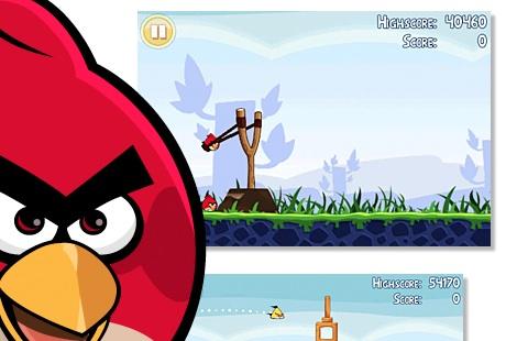 Angry Birds para Android disponible ya 1 Angry Birds para Android ya disponible Gratis!