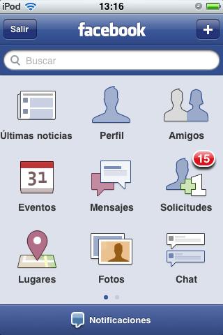 Facebook iphone principal Como manejar páginas en Facebook desde tu iPhone