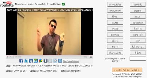 videos youtube Videos de youtube aleatorios con ytroulette
