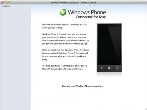 windows phone 7 connector Disponible Windows Phone 7 Connector para Mac