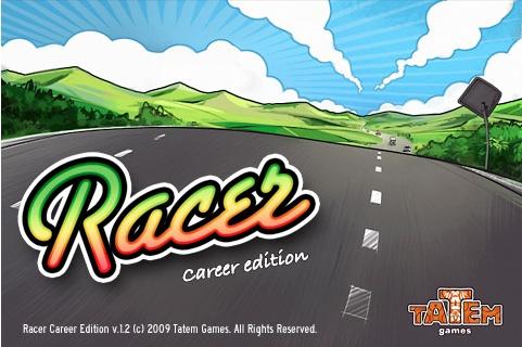 Racer for iphone Juego de carreras para iPhone/iPod, Racer