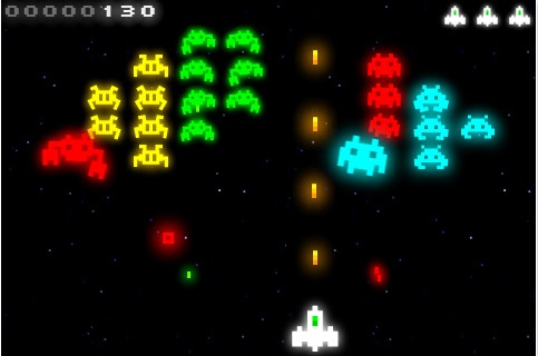 Radiant Space Invaders Iphone Juego para iPhone/iPod Touch, Radiant