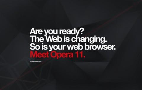 Opera 11 Opera 11 disponible para descargar