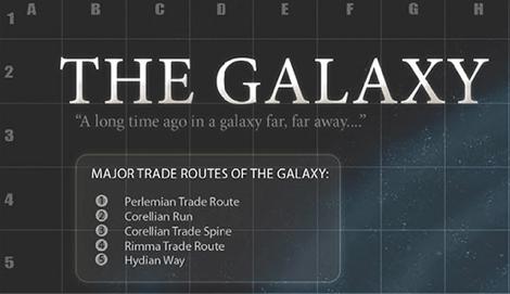 Mapa de la galaxia de star wars Como era la Galaxia de Star Wars