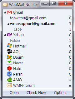 checar hotmail firefox Checar hotmail y otros con WebMail notifier