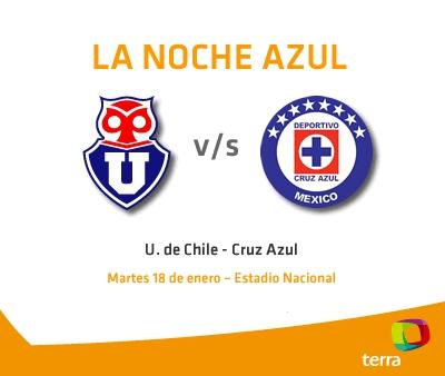 la u cruz azul en vivo amistoso 2011 La U de Chile vs Cruz Azul en vivo, Amistoso Internacional