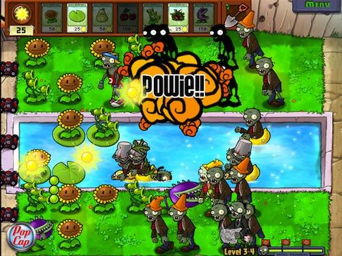 Plantas vs Zombies disponible en la Mac App Store