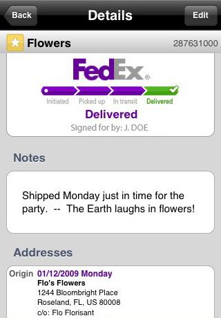 fedex xpress iphone FedEx Express lanza su aplicación para iPhone y Blackberry