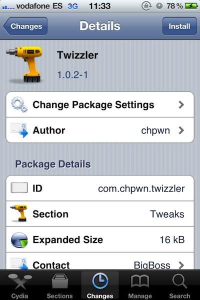 Twizzler Elimina los Trending Topics del nuevo Twitter para iPhone