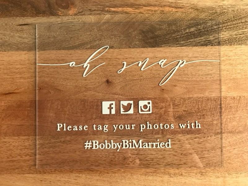 Large Of Wedding Hashtag Sign