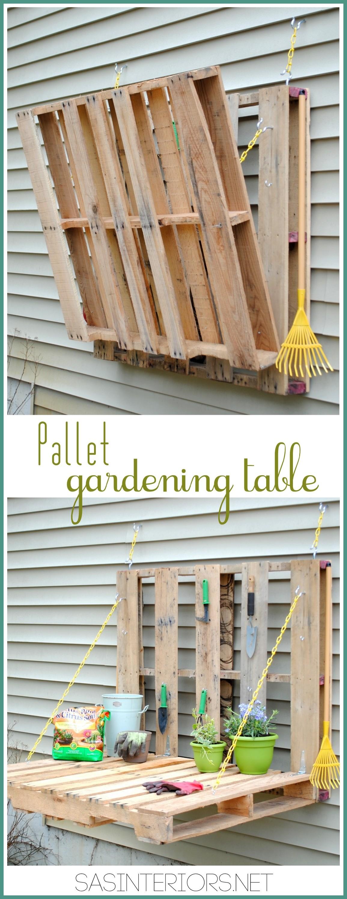 Fullsize Of Pallet Gardens Pinterest
