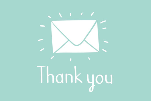 Sending a thank you email to blog commenters in WordPress