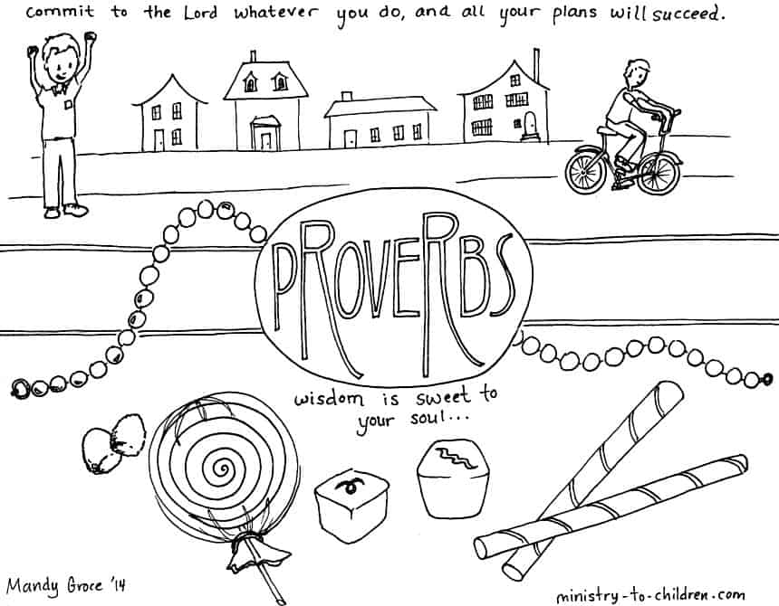 1 Timothy 4 12 Coloring Page