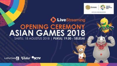 Live Streaming Pembukaan Asian Games 2018 - Asian Games Liputan6.com