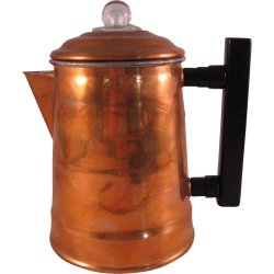 Charming Vintage Camping Copper Coffee Pot Small Cups Stove Percolator Collector Ruby Lane Vintage Camping Copper Coffee Pot Small Cups Stove Percolator
