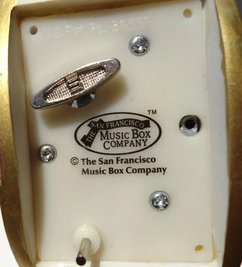 Large Of San Francisco Music Box Company