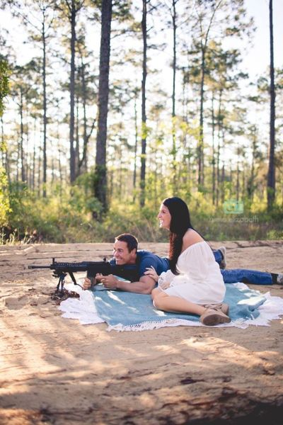 Couple Uses Tannerite in Awesome Baby Gender Reveal Photos: Will the Smoke Be Blue or Pink?