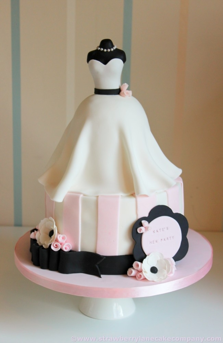 Fullsize Of Bridal Shower Cake