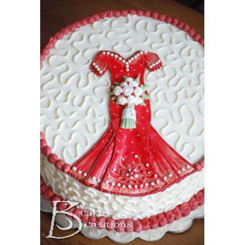 Medium Crop Of Bridal Shower Cake