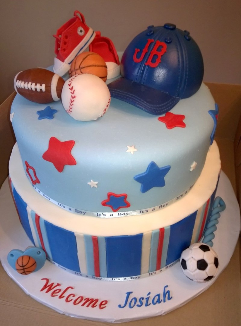 Large Of Boy Baby Shower Cakes