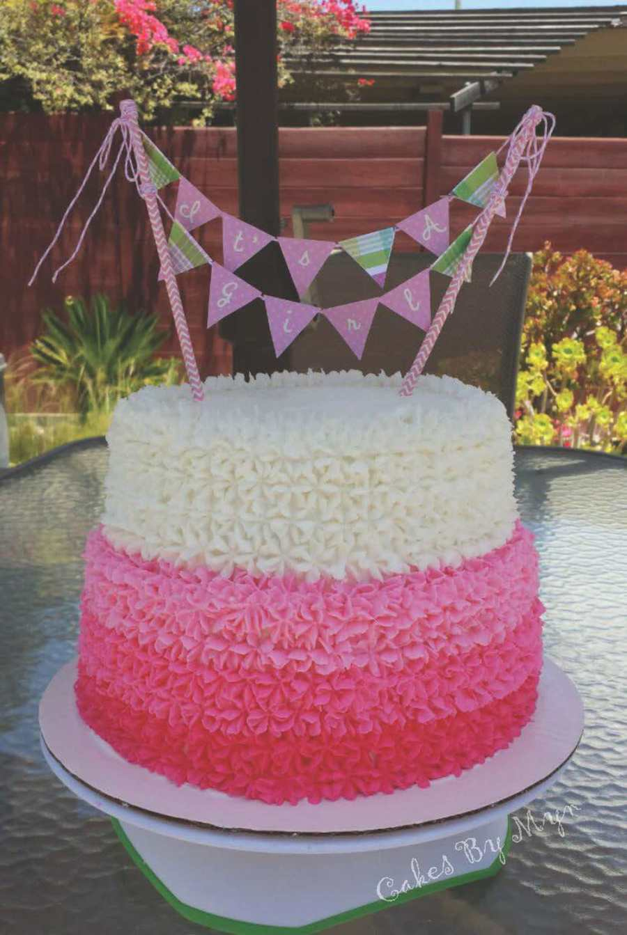 Fullsize Of Girl Baby Shower Cakes