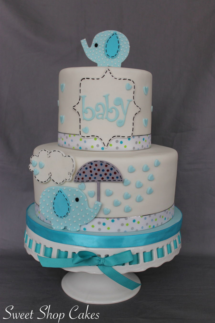 Fullsize Of Baby Shower Cake Ideas