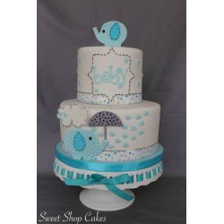 Best Elephant Baby Shower Cake On Cake Central Elephant Baby Shower Cake Baby Shower Cake Ideas Baby Shower Cake Ideas Unknown Gender