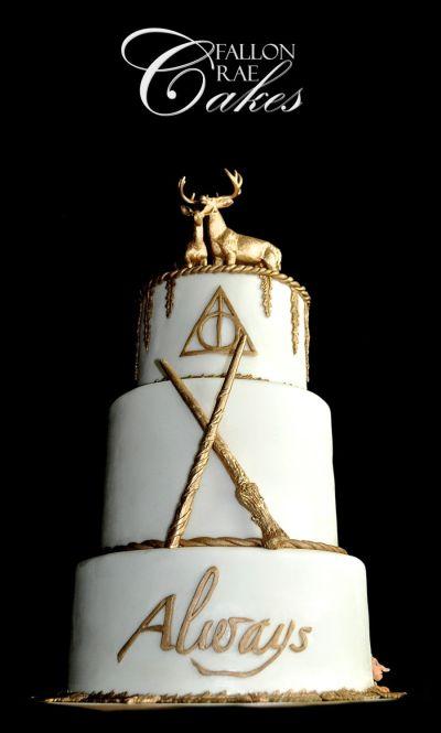 Harry Potter Wedding Cake - CakeCentral.com