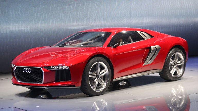 Audi presentó el Nanuk Quattro Concept,un superdeportivo con motor central turbodiesel y suspensión elevada para circular fuera del asfalto