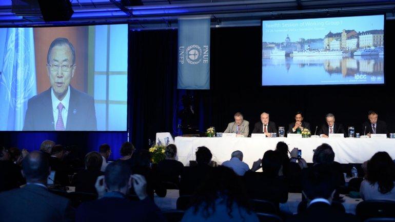 El Panel Intergubernamental sobre elCambio Climático(IPCC) presenta su informe 2013 en Suecia