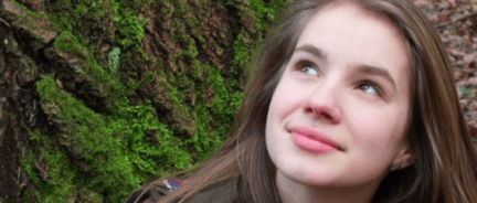 Maria Ladenburger, 19, was a German medical student who was raped and killed Oct. 26. (screenshot from Facebook)
