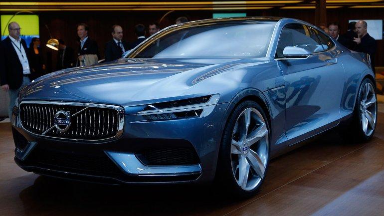 El nuevo Concept Coupé de Volvocuenta con cuatro cilindros Drive-Eque ya están disponibles en seis modelos de sus modelos.