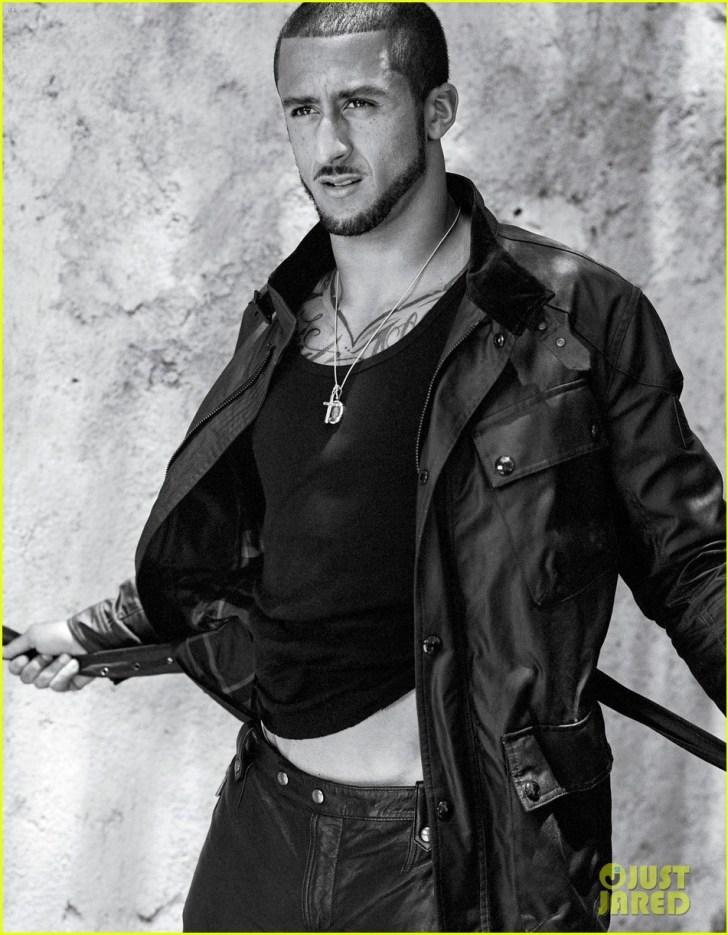 colin kaepernick shirtless v man magazine 01