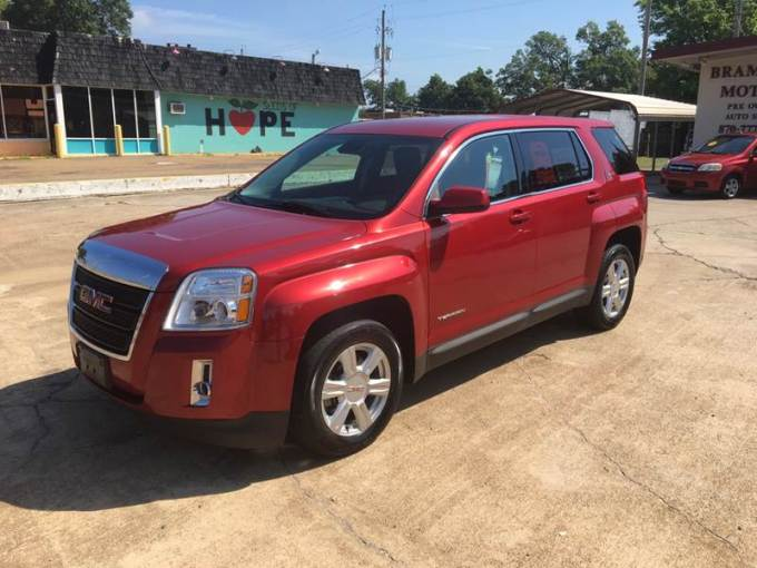 2014 GMC Terrain SLE 1 In Hope AR   BRAMLETT MOTORS 2014 GMC Terrain for sale at BRAMLETT MOTORS in Hope AR