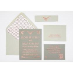 Small Crop Of Art Deco Wedding Invitations