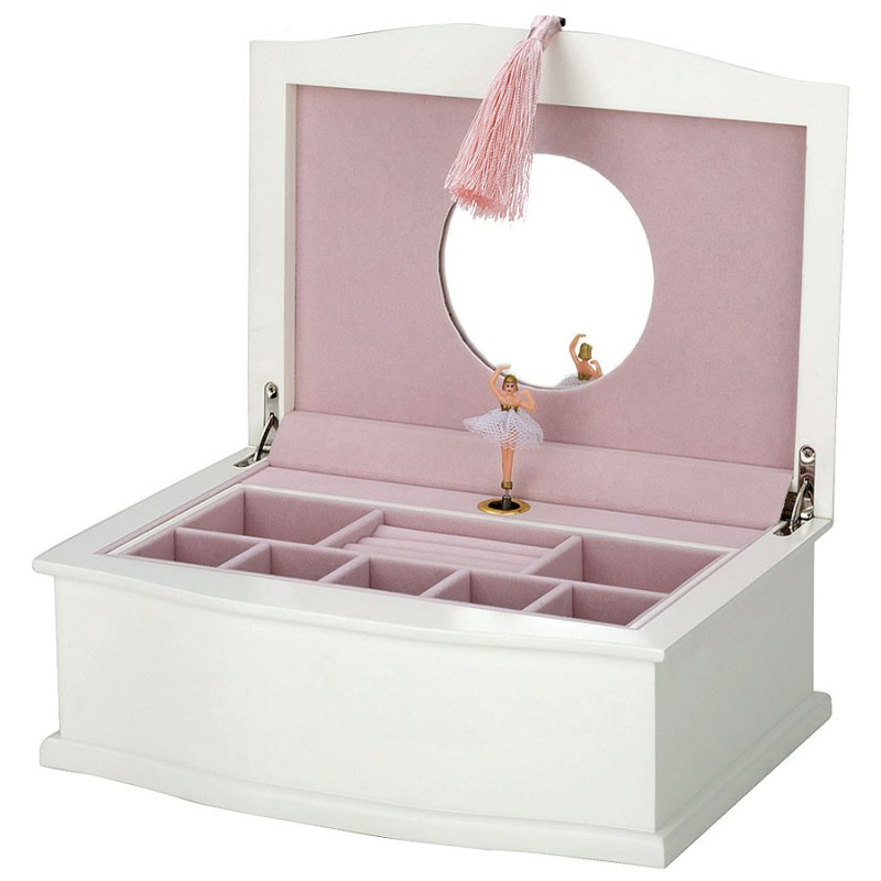 Large Of Ballerina Jewelry Box