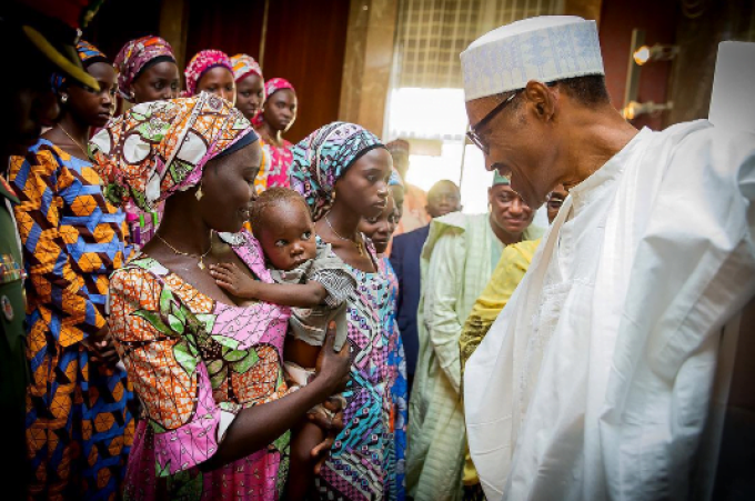 buhari-and-chibok2