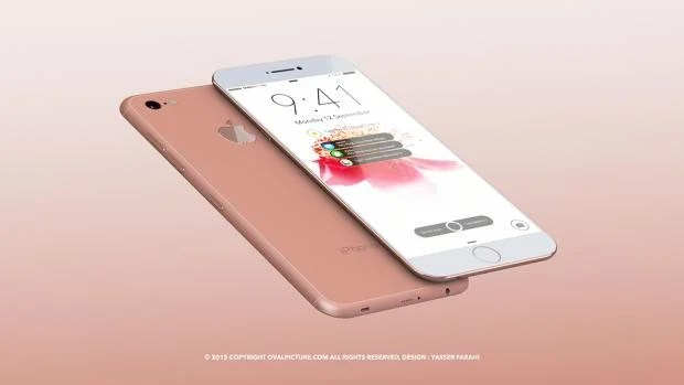 Yasser Farahi iPhone 7 render
