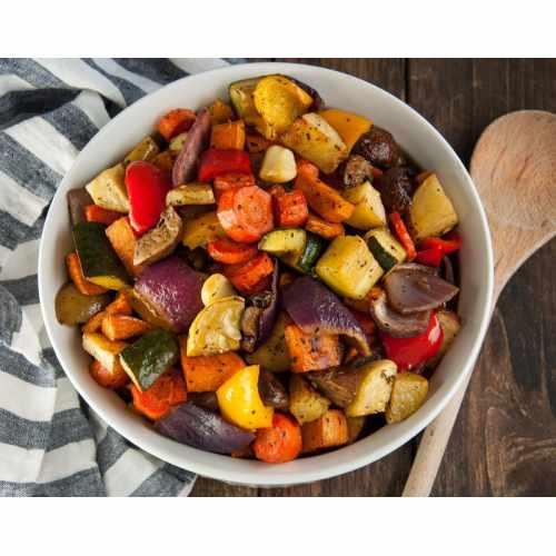 Medium Crop Of Roasted Vegetables With Balsamic Vinegar