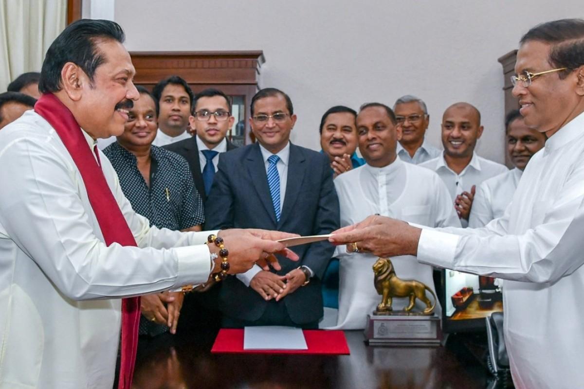 Image result for Sri Lanka: Battling for the PM's job