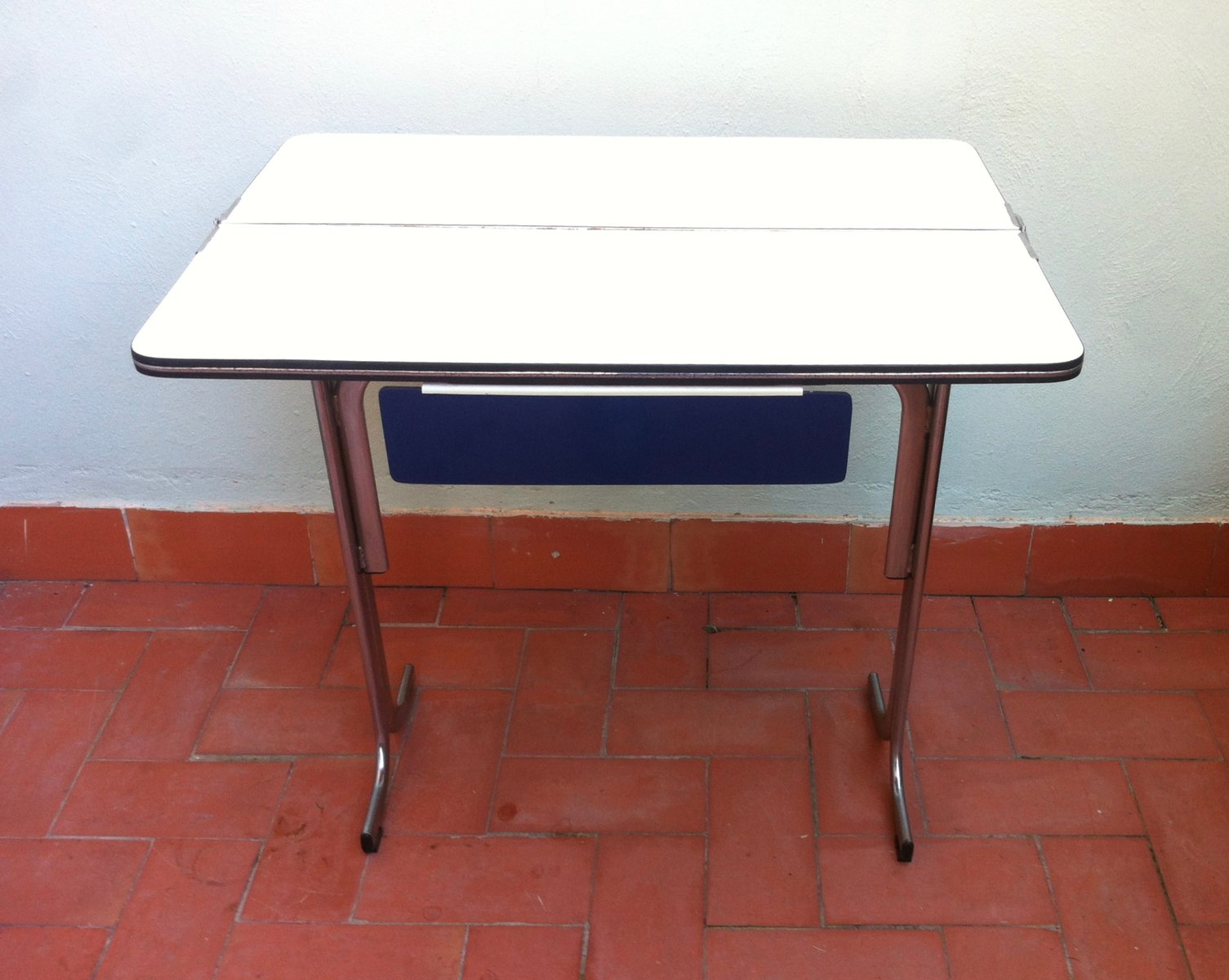 belgian formica folding kitchen table with drawer s 1 folding kitchen table Belgian Formica Folding Kitchen Table with Drawer s for sale at Pamono