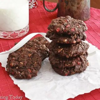 Peppermint Chip Chocolate Cookies [GF] - Recipe (1 of 1)