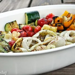 Grilled Vegetable Medley - Savoring Today (1 of 1)