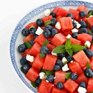 Watermelon-Blueberry Salad 2-1