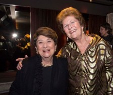 Leadership Council Members Florence Koplow, MPA '95, and Mary Revelle Paci