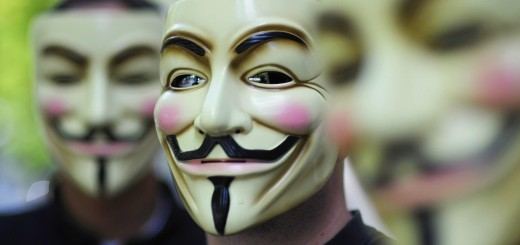 """Activists of the organization """"Anonymous"""