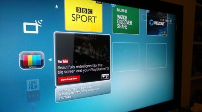 PS3 Gets Native YouTube App Outside of North America